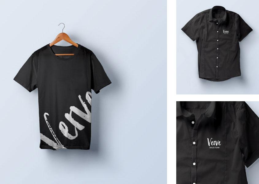 Jetzt anfragen, bedrucktes T-Shirt, Polo oder Hemd als Werbeartikel