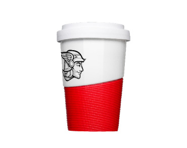 Coffee2Go Wave Becher, hier anfragen und bedrucken