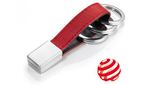 """Der Design Schlüsselanhänger """"Twister"""" von Troika, direkt hier anfragen"""