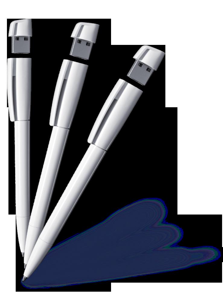 Kugelschreiber mit integriertem USB-Stick, hier den Kilo Turnus bedrucken