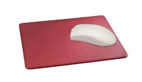 Mousepad aus Leder mit Prägung ein Premium Werbeartikel, hier anfragen