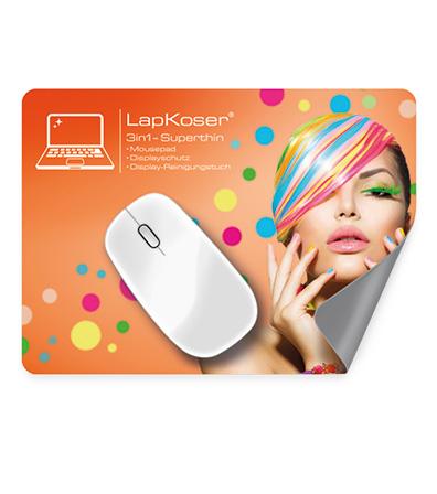 Mousepad vierfarbig bedruckt als Werbeartikel