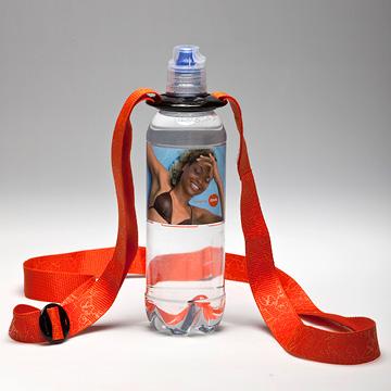 Ihr Druck auf der Wasserflasche!? Fragen Sie jetzt nach der Waterbelt Umhängetasche
